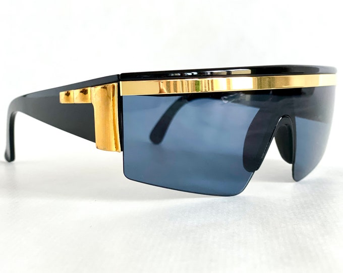 Vintage 1980s Gianni Versace Y76 Col 852 Sunglasses – New Old Stock – Including Gianni Versace Case