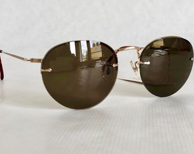 Jean-François Rey JFR-2002 Vintage Sunglasses – Made in Japan by Murai – New Old Stock