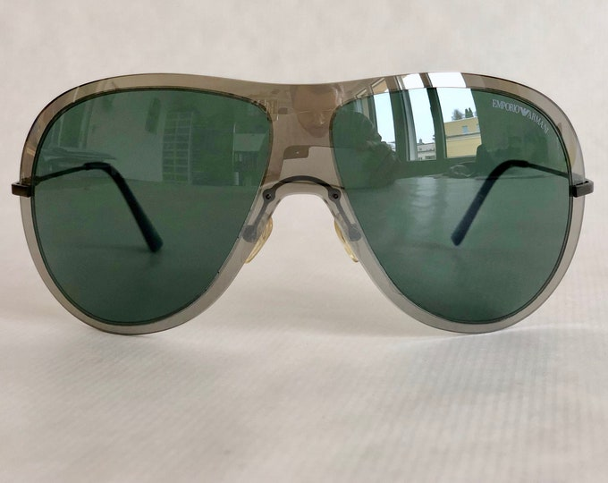 Emporio Armani EA 9720 S Vintage Sunglasses – New Old Stock - Including Armani Case and Cloth