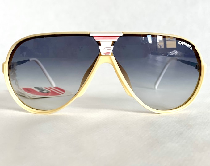 Vintage 1980s Carrera 5593 70 Sunglasses – Full Set – New Old Stock – Made in Austria