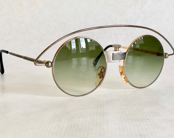 d71bc1ee6aa2a Casanova MTC 3 Vintage Sunglasses – 24k Gold Plated – New Old Stock