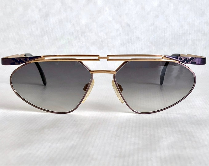 Cazal 256 Col 439 Vintage Sunglasses Made in Germany New Old Stock