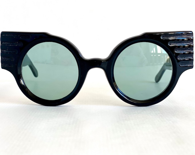 Vintage 1981 Fiorucci 8/Bis Sunglasses – First Fiorucci Eyewear Collection – Made in Italy – New Old Stock