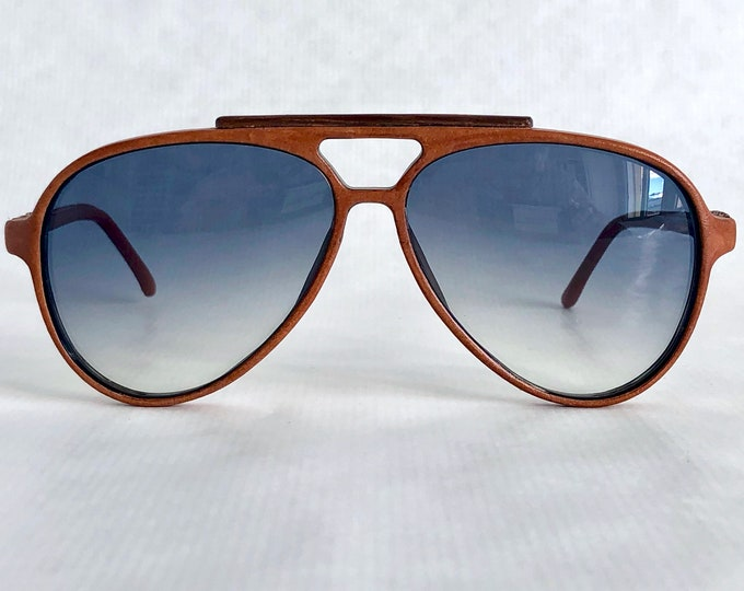 Tannereye PL-6 Genuine Leather Vintage Sunglasses – Made in Canada – New Old Stock