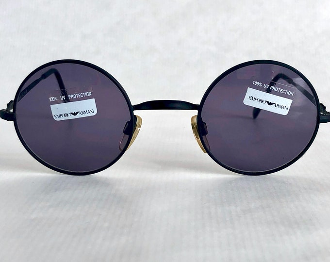 Emporio Armani 001 706 Vintage Sunglasses – New Old Stock – Made in Italy