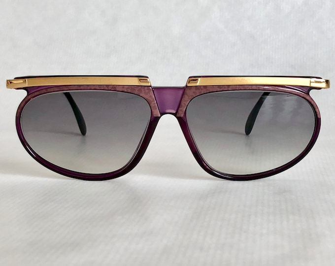 Cazal Mod 335 Col 711 Vintage Sunglasses Made in West Germany New Unworn Deadstock