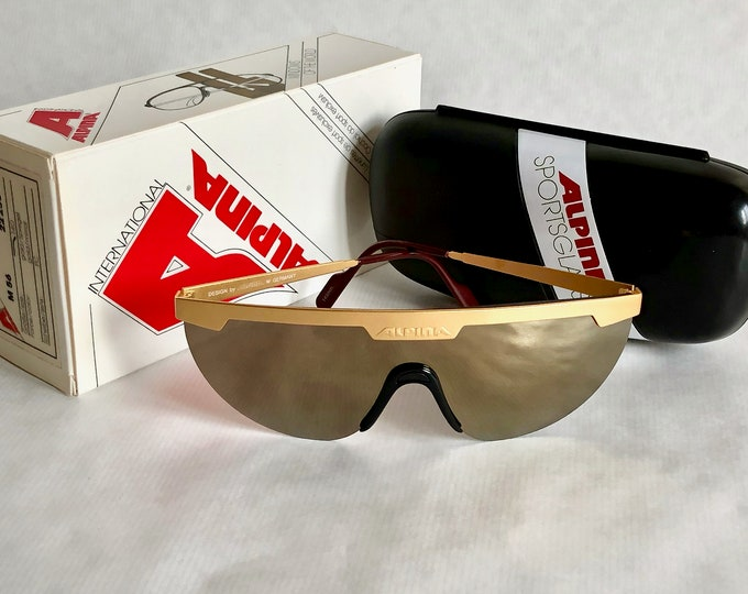 Alpina M 56 Vintage Sunglasses Made in West Germany – Full Set – New Old Stock