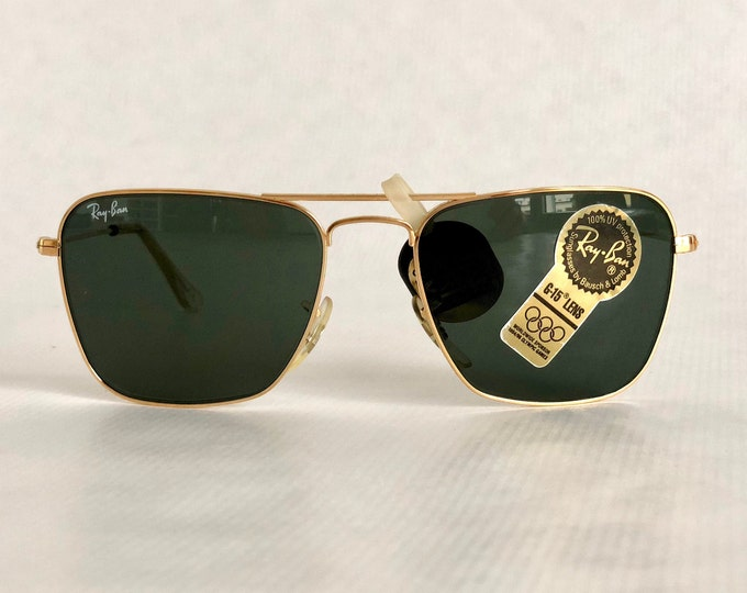 Ray-Ban by Bausch & Lomb Caravan Vintage Sunglasses including Case New Old Stock