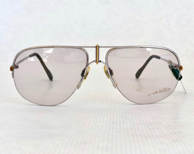 Jaguar 481 Vintage Glasses with 18K Solid Gold Details New Old Stock