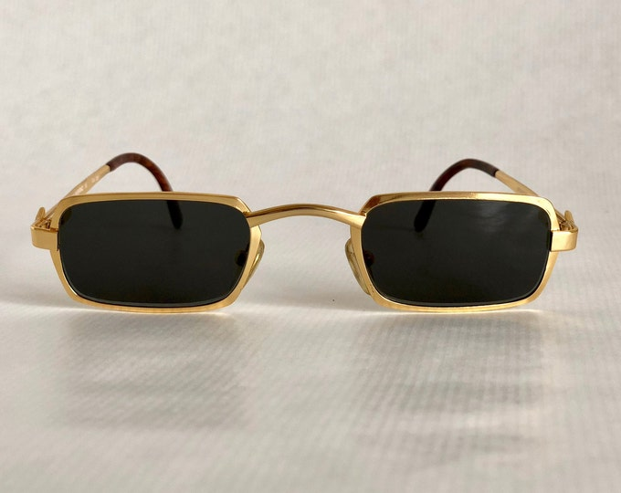 Mario Valentino 16 Col 351 Vintage Sunglasses New Old Stock Made in Italy