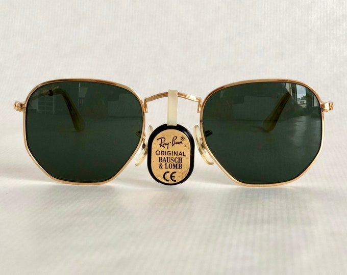 Ray-Ban by Bausch & Lomb W980 Vintage Sunglasses Made in the U.S.A. including Case