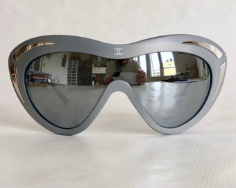 bbc735e940 CHANEL 15545 Vintage Sunglasses – New Unworn Deadstock – Including CHANEL  Softpouch and Cloth