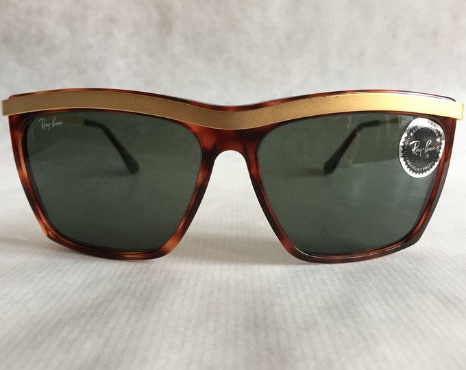 Ray-Ban Olympian III by Bausch & Lomb Vintage Sunglasses New Old Stock including Case and Neckstrap