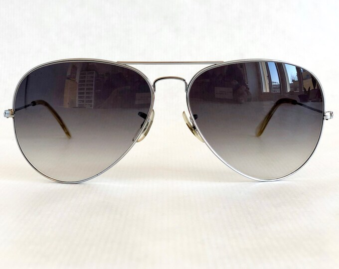 Ray-Ban by Bausch & Lomb Aviator Vintage Sunglasses – Including Case – New Old Stock