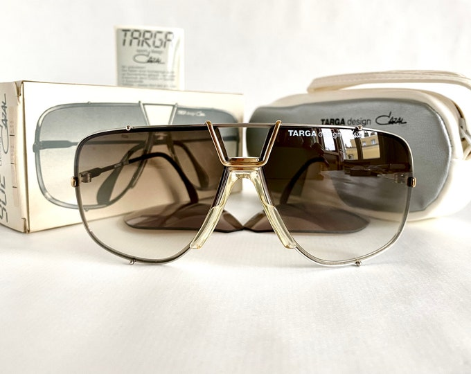 Vintage 1985 Cazal 902 Col 52 Sunglasses – Full Set – NOS – Made in West Germany