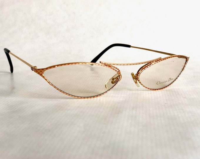 Christian Dior 2671 Vintage Glasses New Old Stock Made in Austria