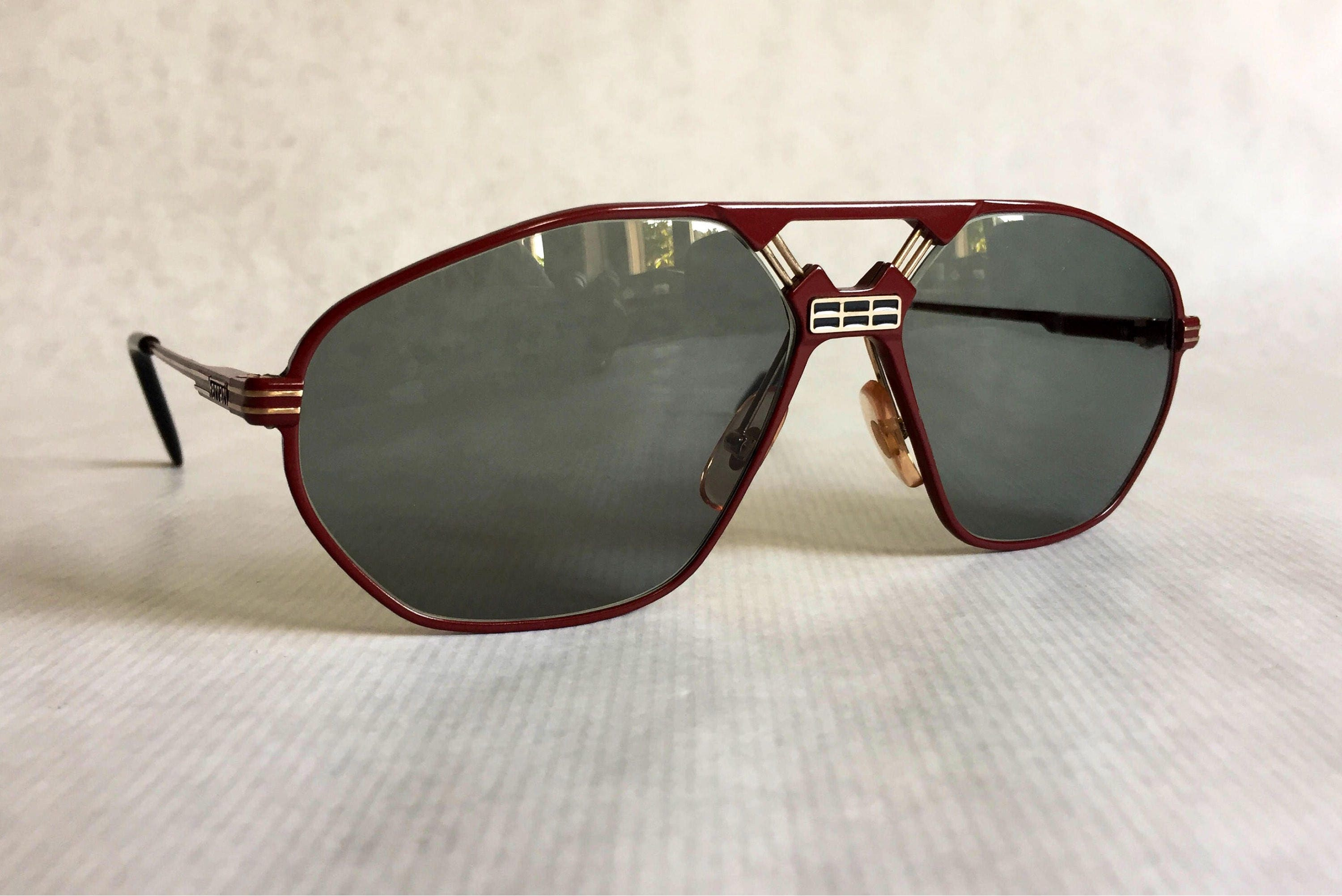 Ferrari F22 Vintage Sunglasses New Old Stock Made in Italy
