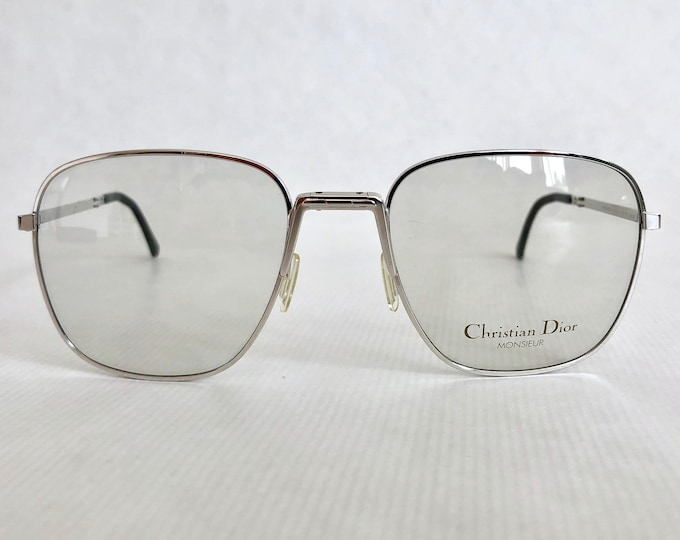 Folding Christian Dior Monsieur 2287 Vintage Glasses New Old Stock with Original Case