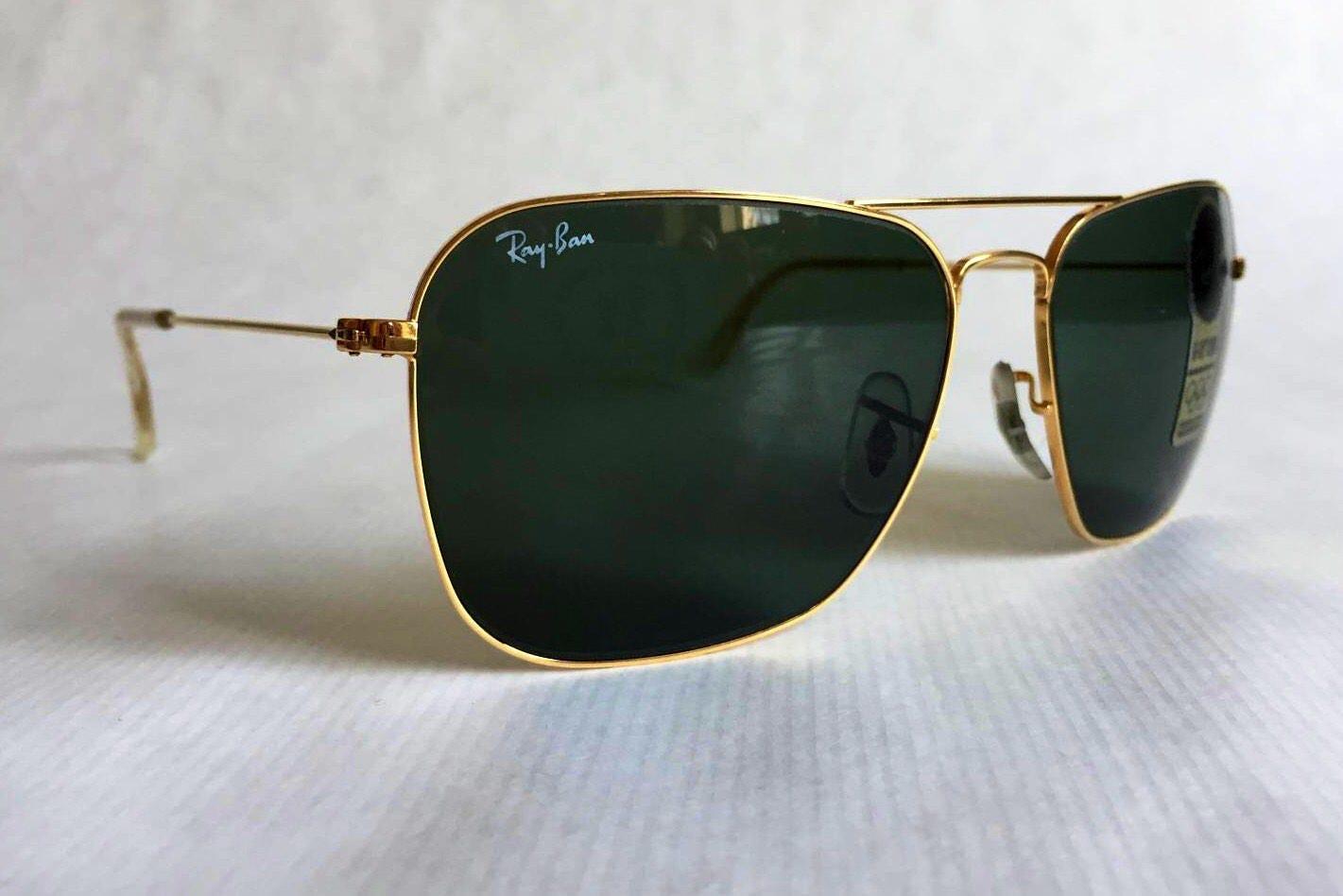 2a11f590f2f Ray-Ban Caravan by Bausch   Lomb Vintage Sunglasses New Unworn Deadstock