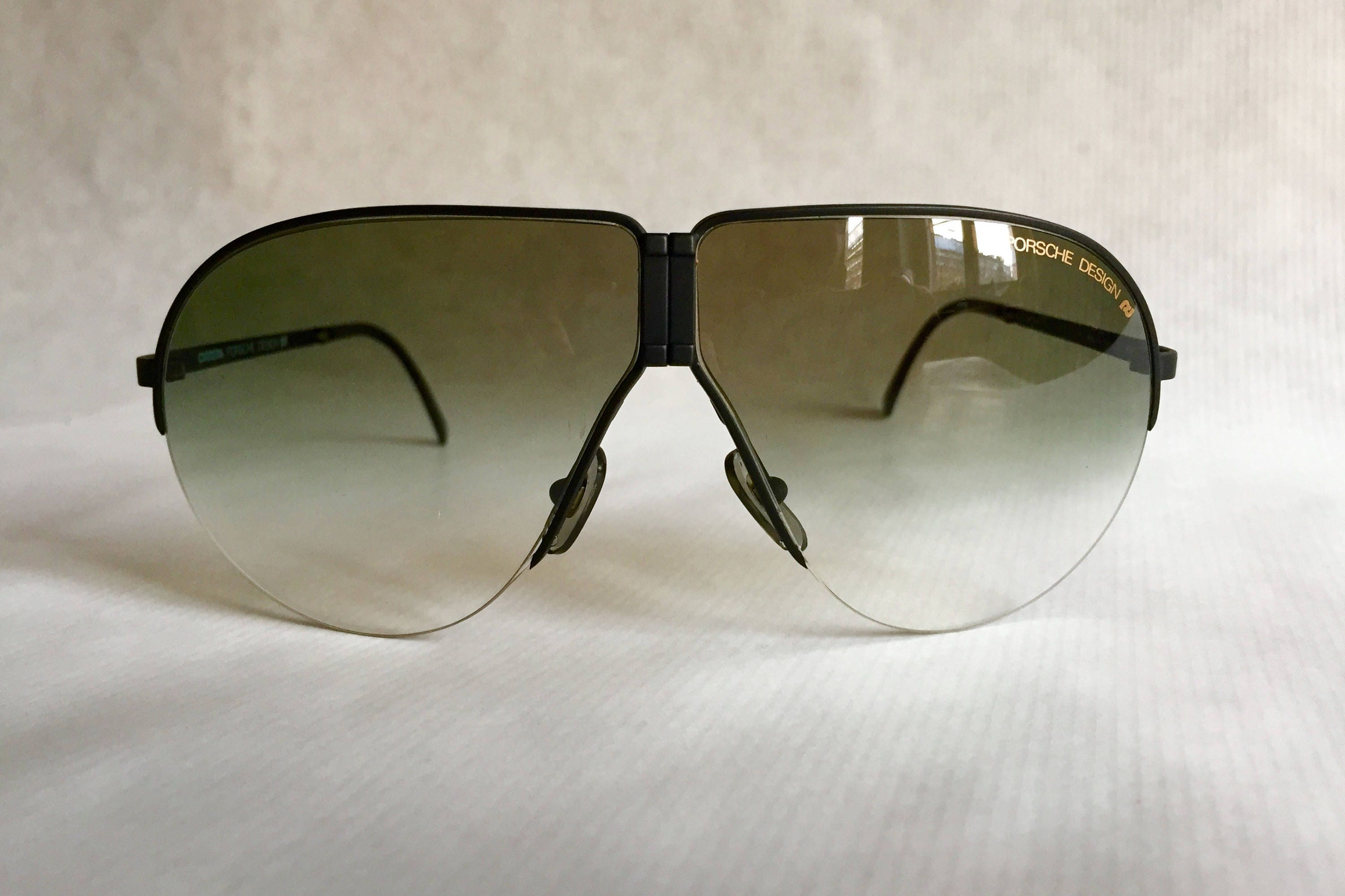 49217c7322 Porsche 5628 Folding Vintage Sunglasses including Case   Spare Lenses - New  Old Stock. gallery photo ...
