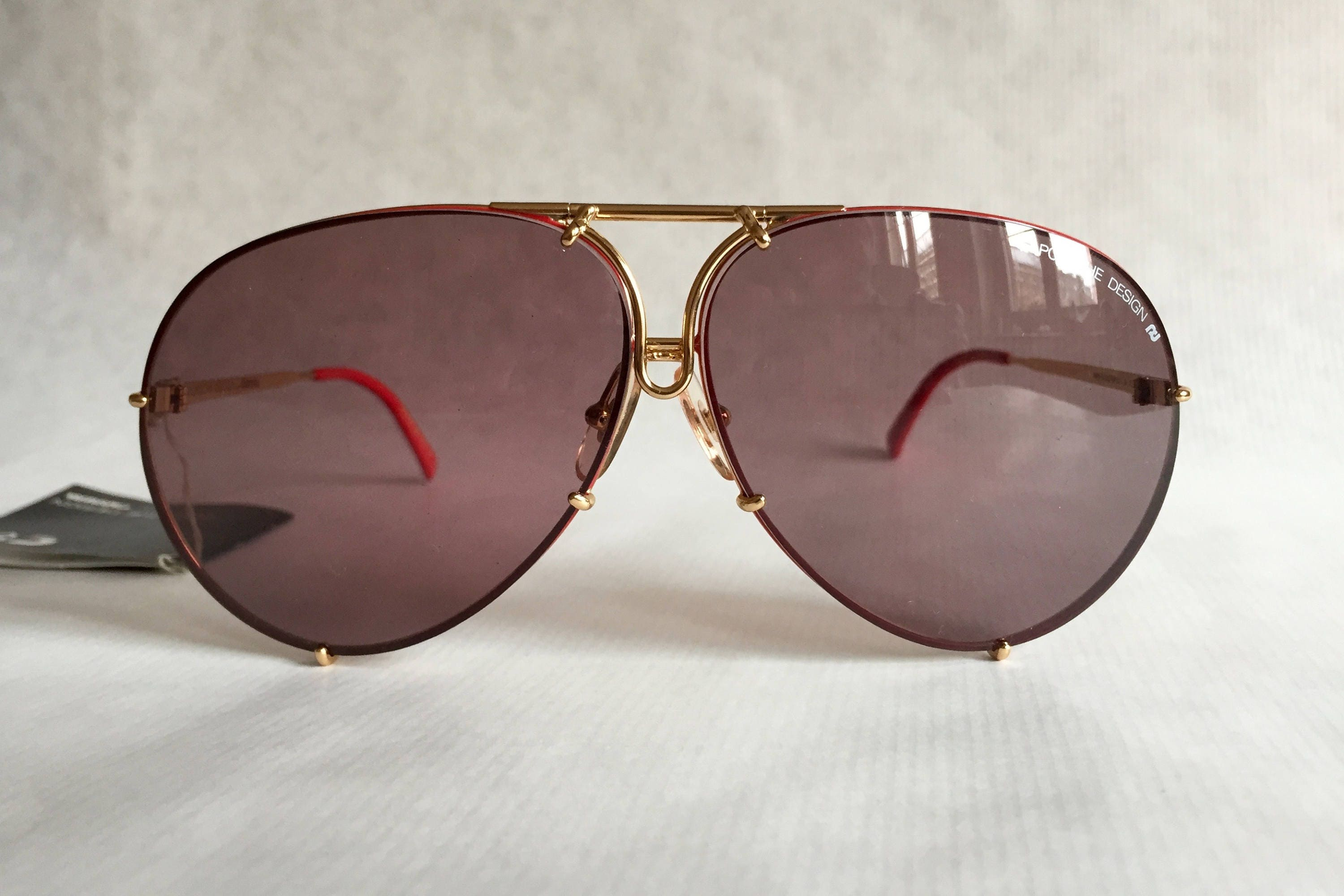 3af8b9730b3e Porsche Design 5621 36 Vintage Sunglasses Full Set with 4 Pairs of Lenses  New Old Stock