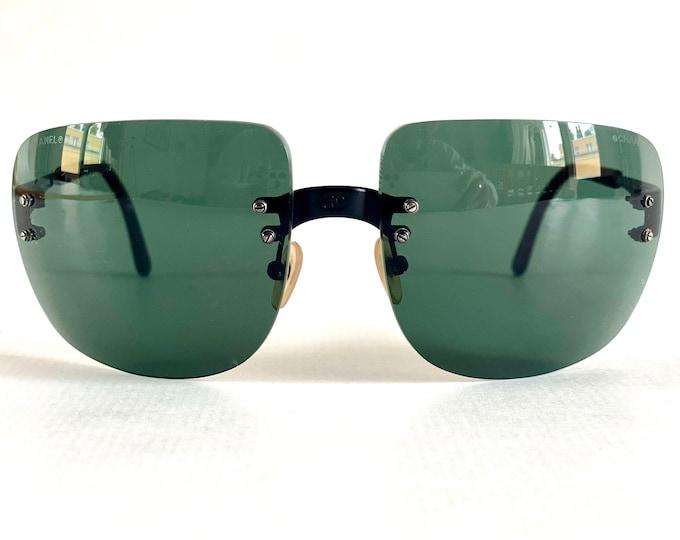 Vintage 1990s CHANEL 4006 101/76 Sunglasses – Including Chanel Case