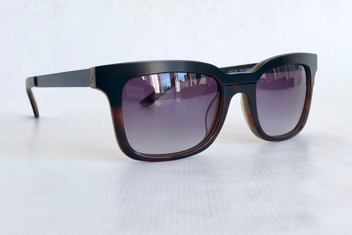 Jeremy Tarian Zurich Sunglasses – Handmade in France – Full Set – New Old Stock