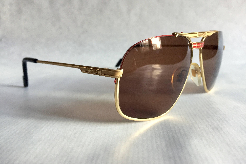 Vintage Ferrari Aviator Sunglasses « Heritage Malta