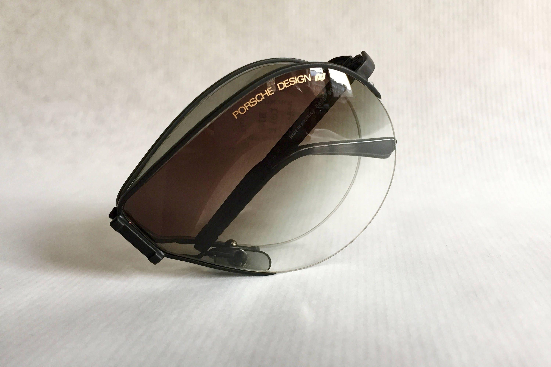a3e9877594 Porsche 5628 Folding Vintage Sunglasses including Case   Spare Lenses - New  Old Stock