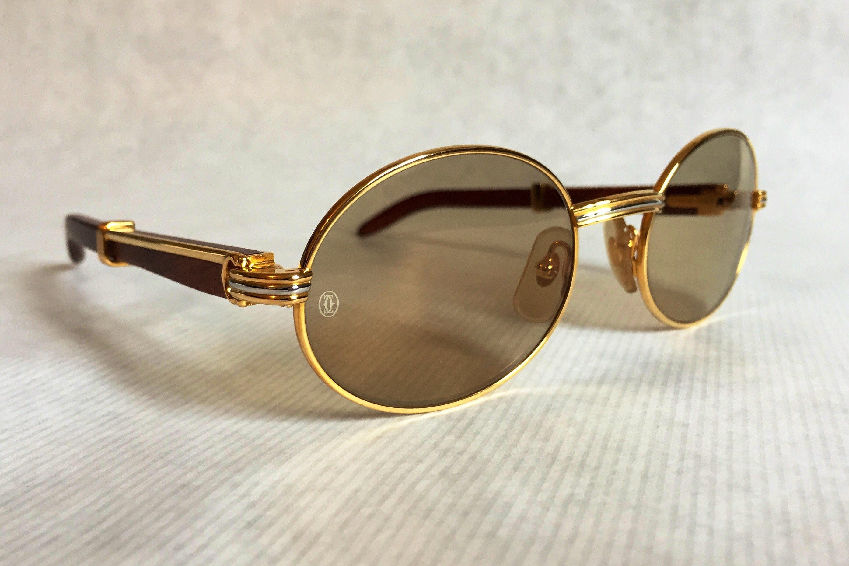 546b070cb4aa Cartier Giverny Vintage Sunglasses - Large Size - New Old Stock ...