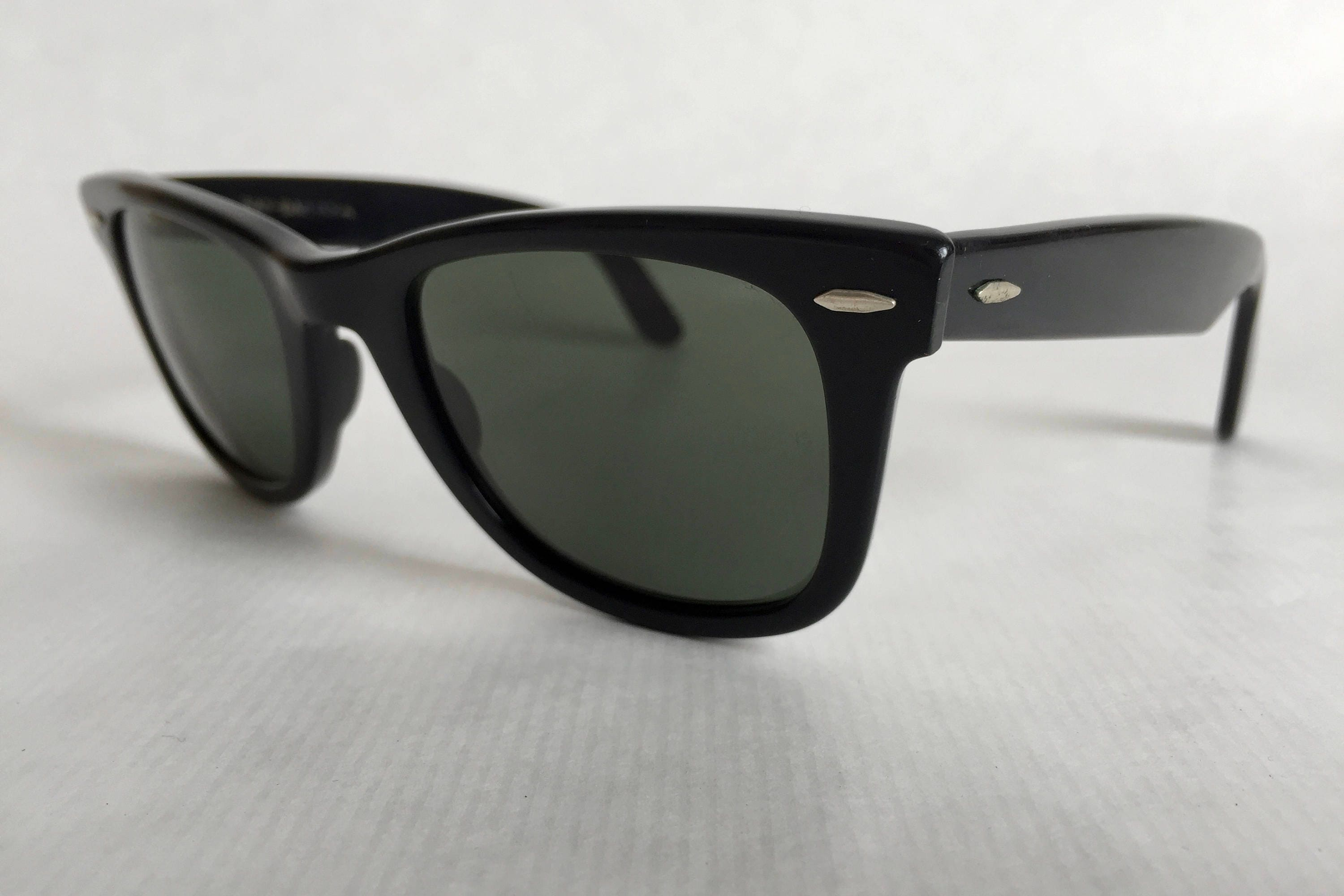 29151024b7 Ray-Ban WAYFARER by Bausch   Lomb Vintage Sunglasses First Generation.  gallery photo gallery photo gallery photo gallery photo gallery photo