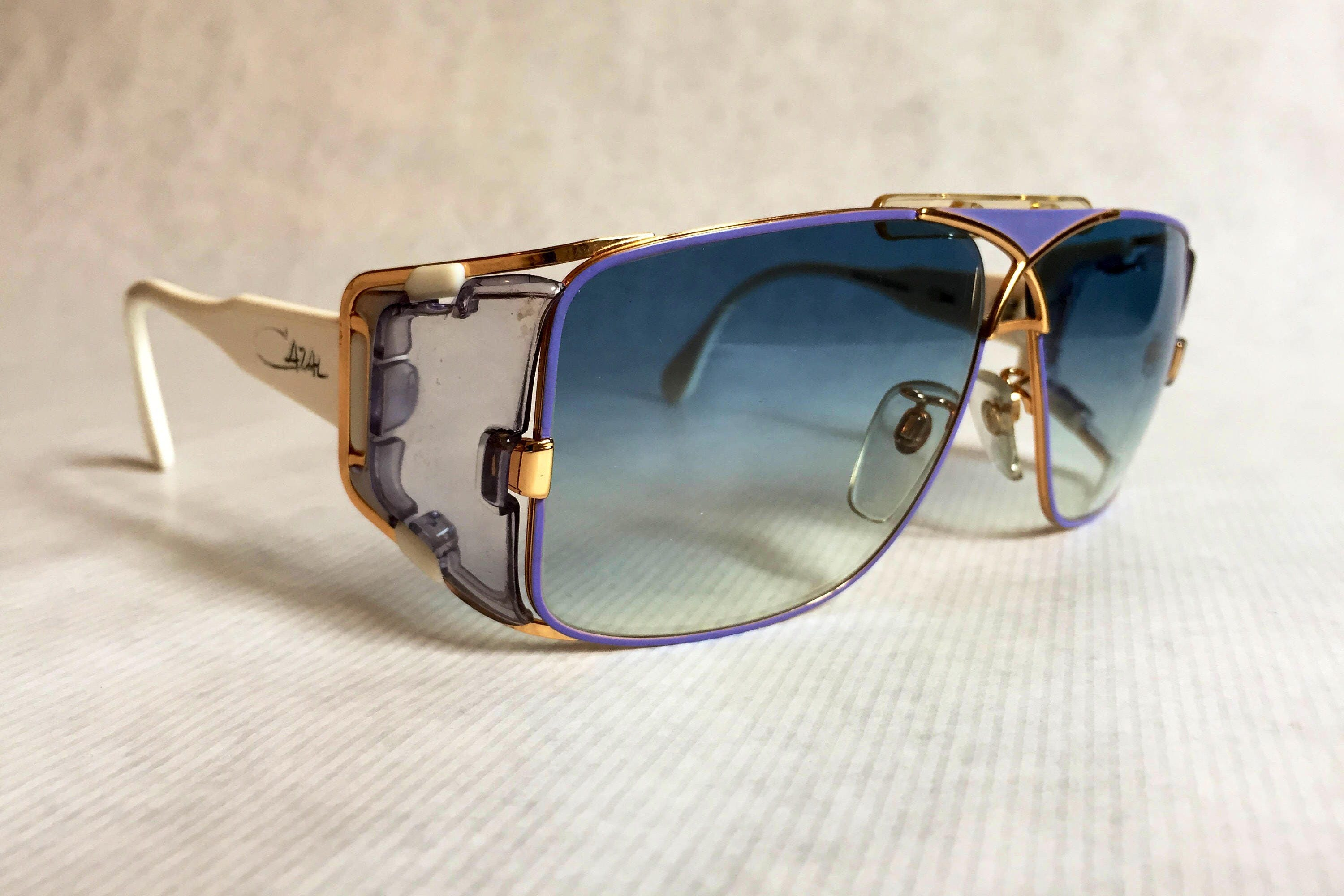576d4ae64f4 Vintage Sunglasses With Leather Side Shields « One More Soul