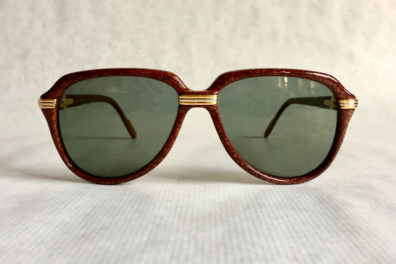 af5a6c350a Cartier Vitesse Vintage Sunglasses - Full Set including 2 Cases - New  Unworn Deadstock