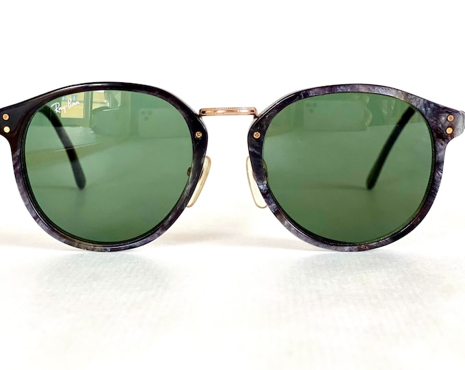 Vintage 1980s Ray-Ban by Bausch & Lomb Traditionals Prudential Sunglasses – New Old Stock – Made in USA