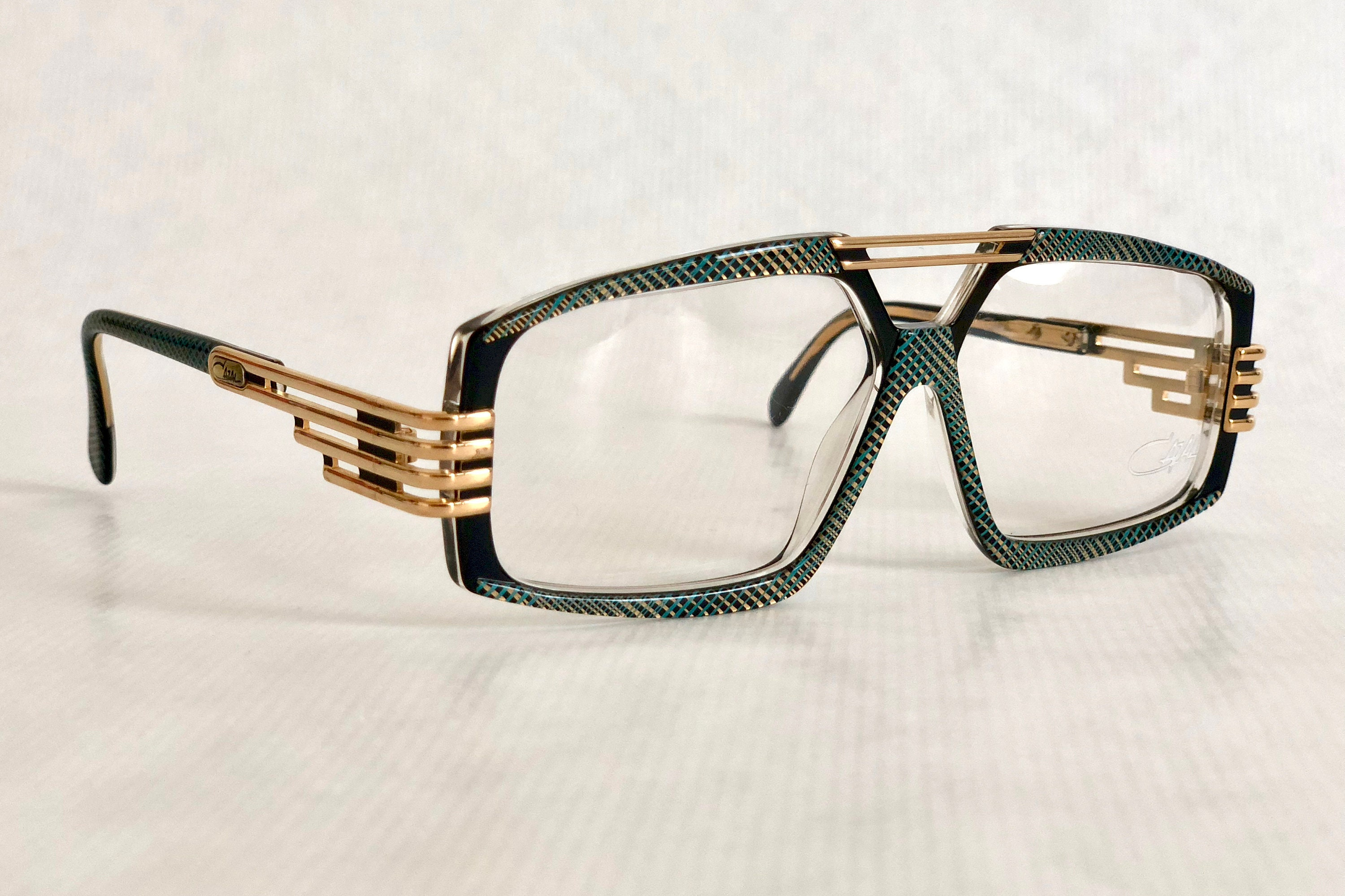 d5ebf9acf5 Cazal 325 Col 673 Vintage Eyeglasses Made in West Germany New ...