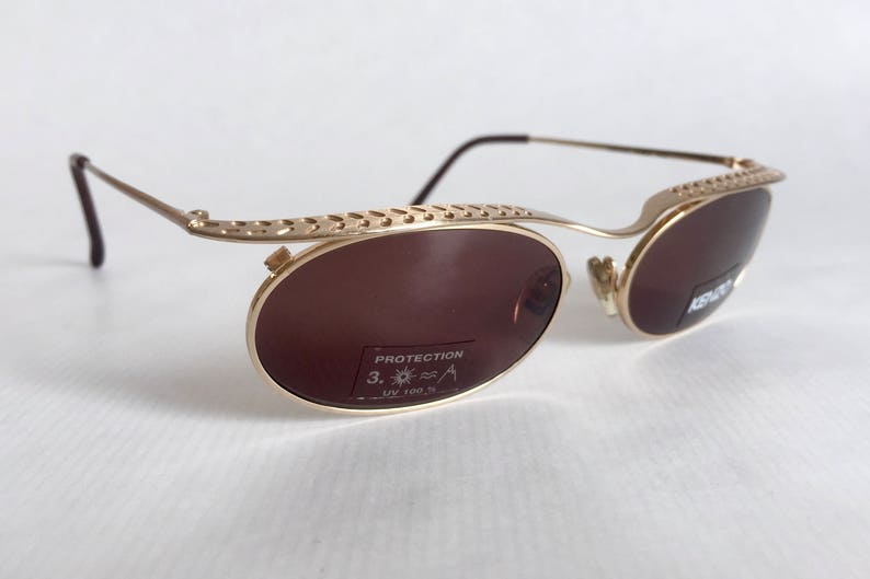 a2be5f2655655d KENZO Creole K1379 Vintage Sunglasses Made in France New Old