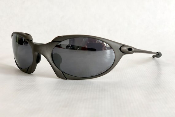 Oakley X Metal Romeo 1 Vintage Sunglasses New Old Stock   Etsy 92129a2101
