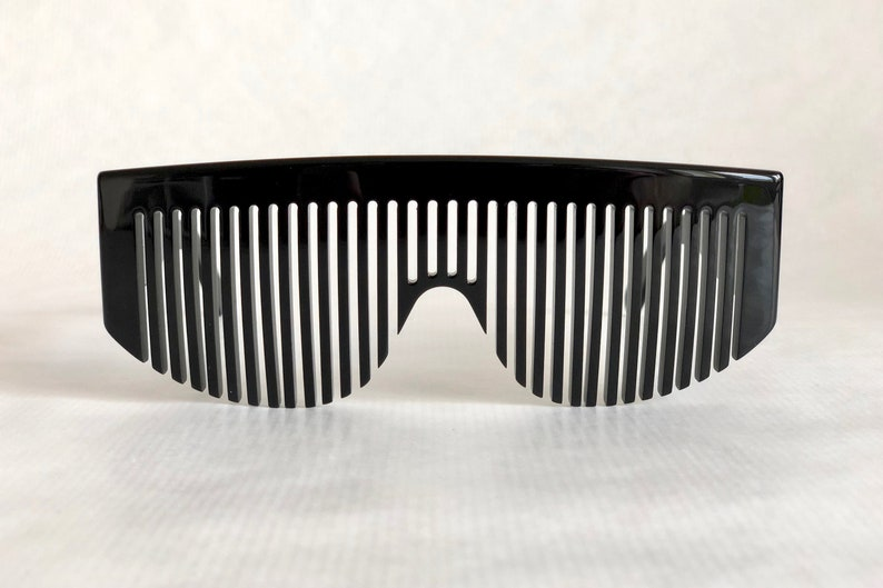 5e30ce6728b Chanel 04171 94305 Vintage Comb Sunglasses New Old Stock Full
