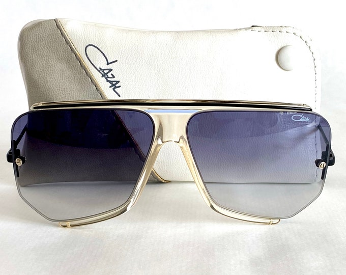 Vintage 1986 Cazal 850 Col 184 Sunglasses – New Old Stock – Made in West Germany – Including Cazal Case