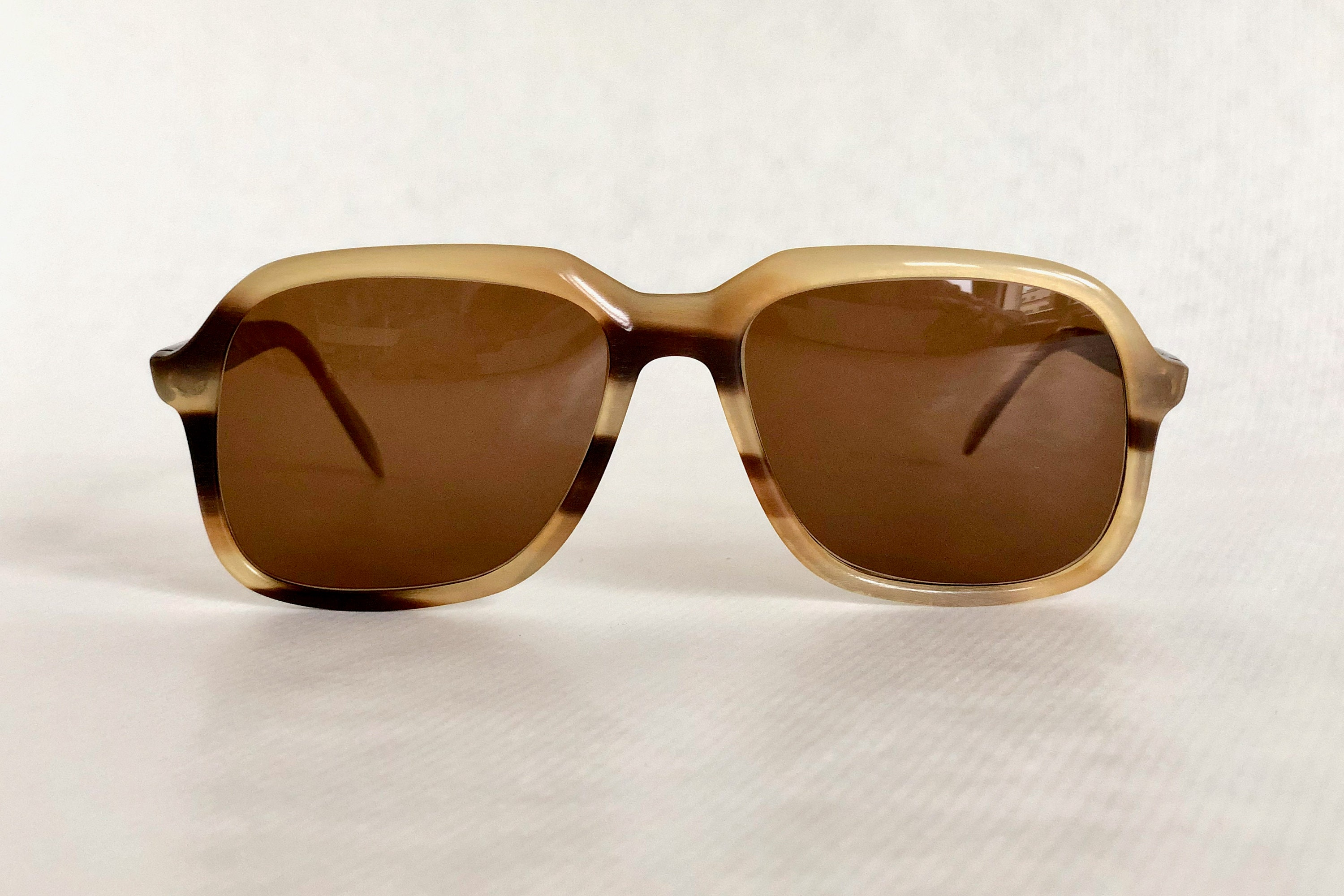966c1f90d Köln Optik Genuine Irish Horn Vintage Sunglasses New Unworn Deadstock.  gallery photo ...