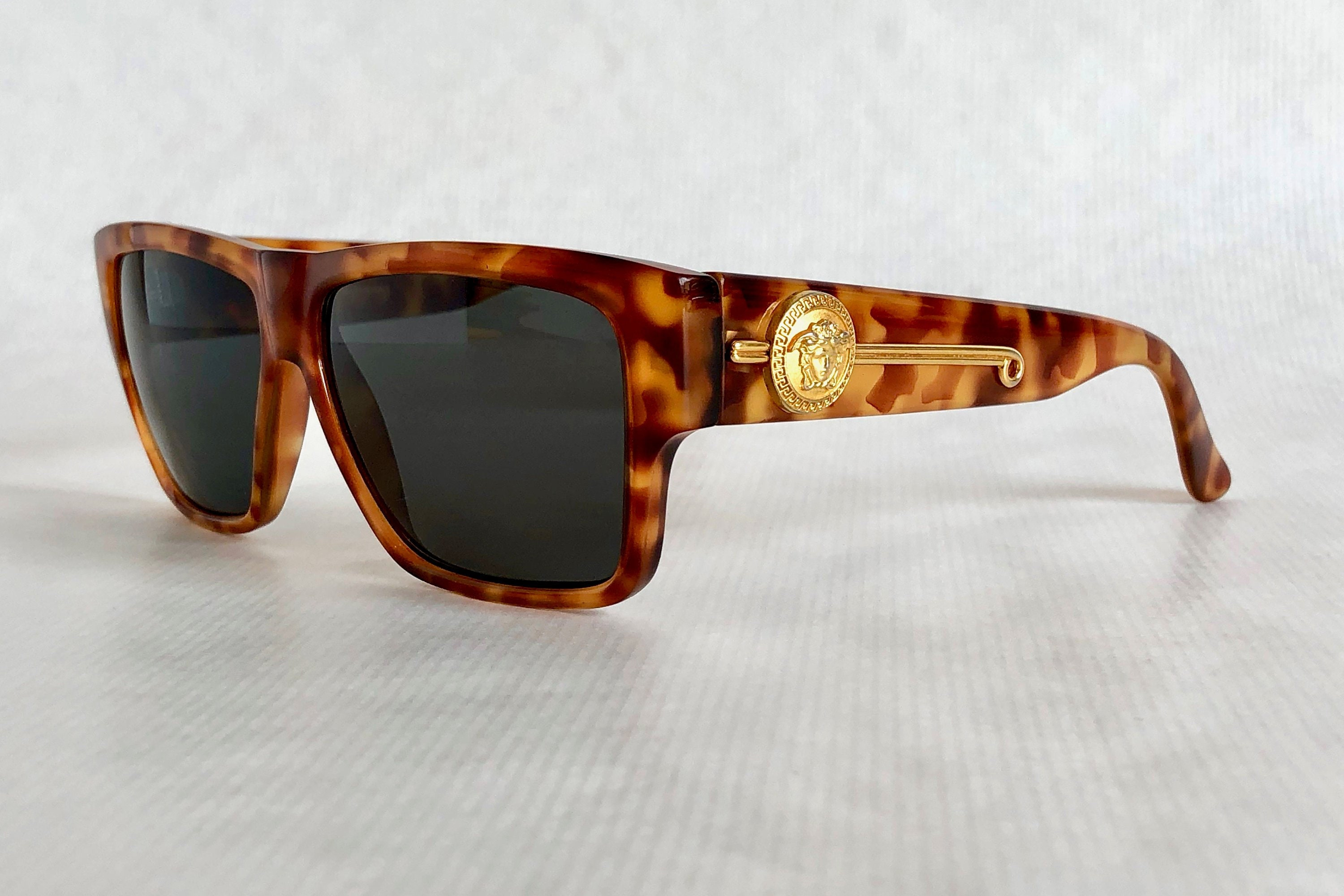 c7e80e6d9b7c1 Gianni Versace 372 DM Col 830 BD Vintage Sunglasses – New Old ...