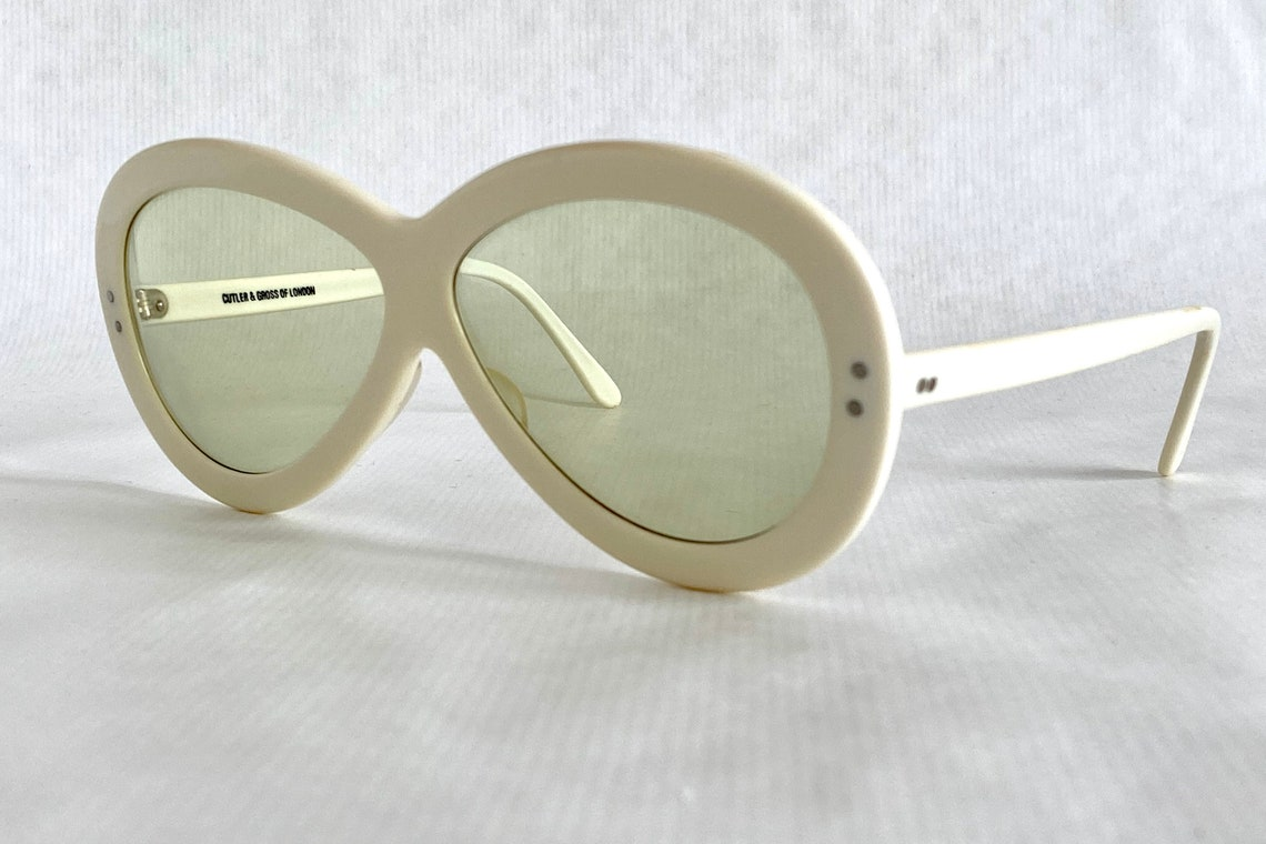 Cutler and Gross Vintage Sunglasses – New Old Stock – Including Case