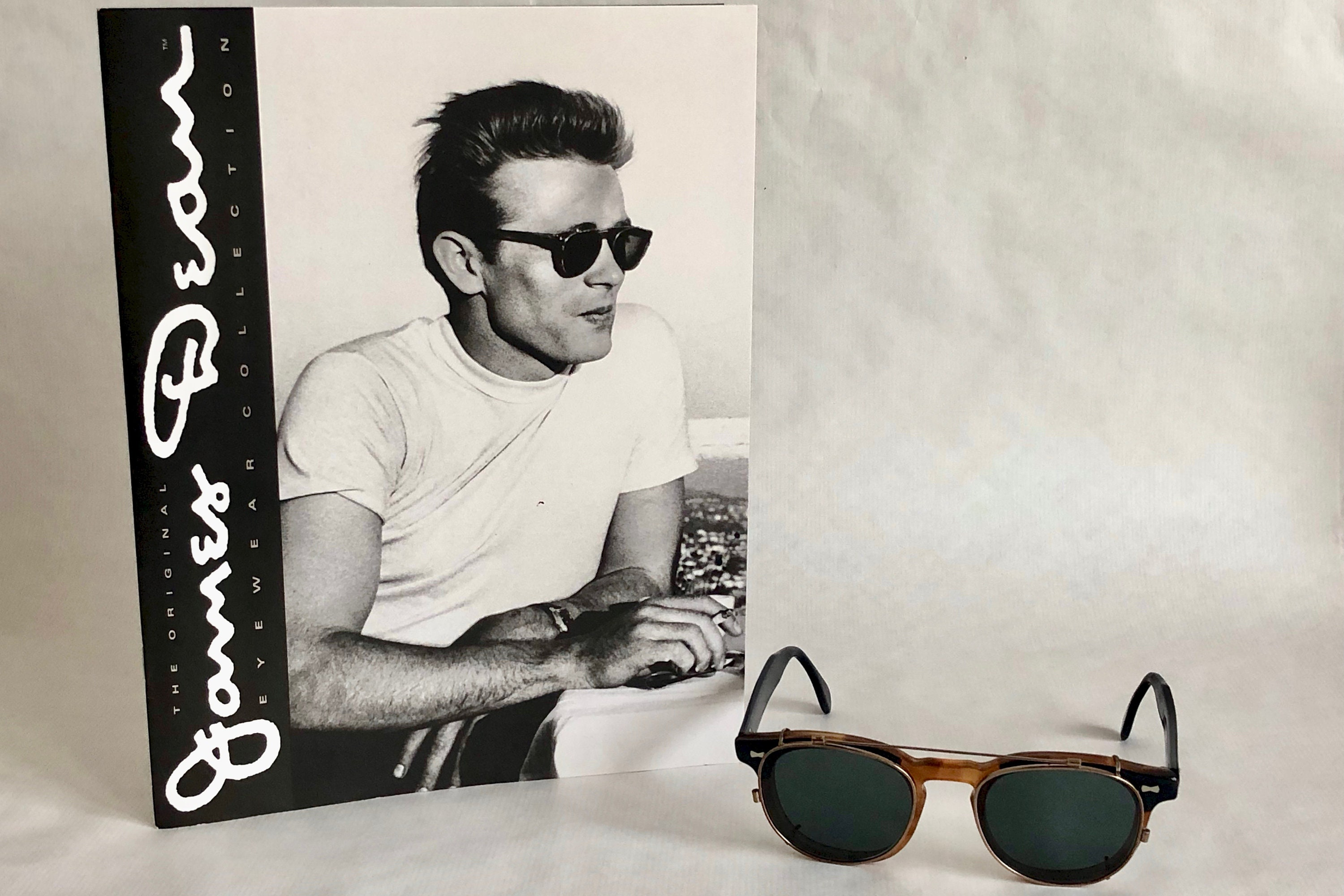 5899c7063c36 Shady Character NYC James Dean Vintage Sunglasses - including Shady  Character Catalogue