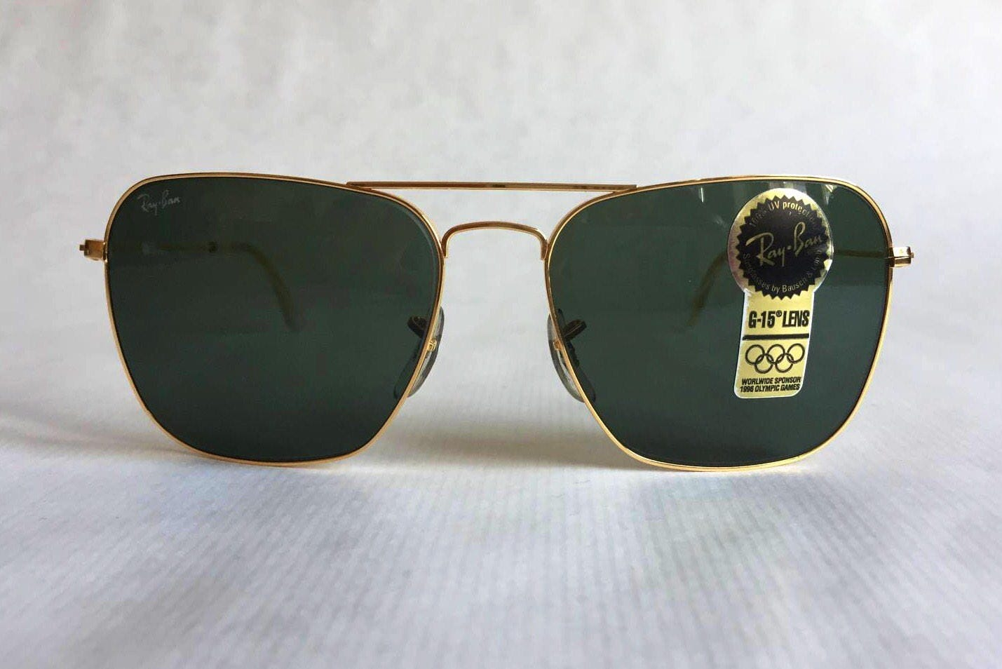 476968a7b2 Ray-Ban Caravan by Bausch   Lomb Vintage Sunglasses New Unworn Deadstock.  gallery photo ...