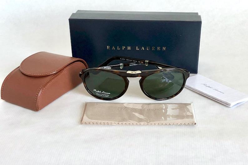 68b265fdefc Ralph Lauren Purple Label PL 9757 Folding Vintage Sunglasses