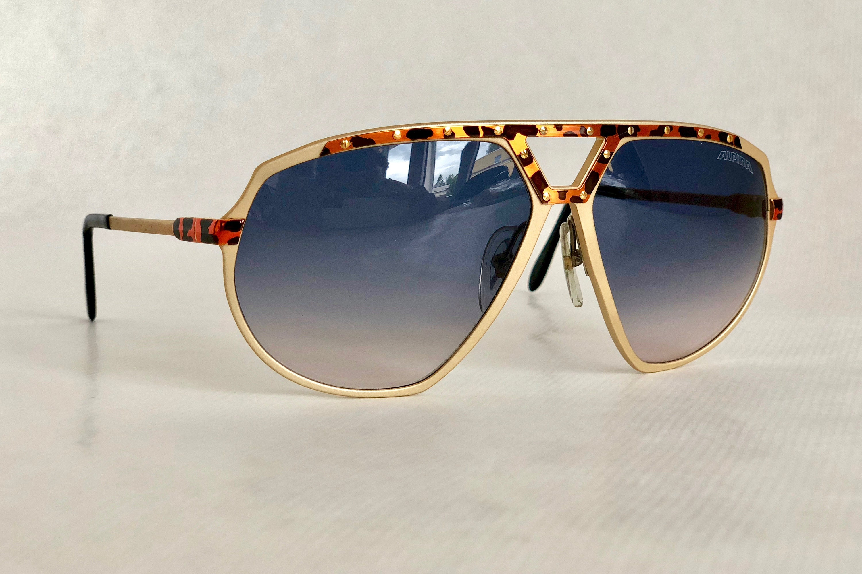 68c277731956 Alpina M1/8 24K Gold Vintage Sunglasses West Germany New Old Stock Full Set  including Case, Box and Leaflet. gallery photo gallery photo gallery photo  ...