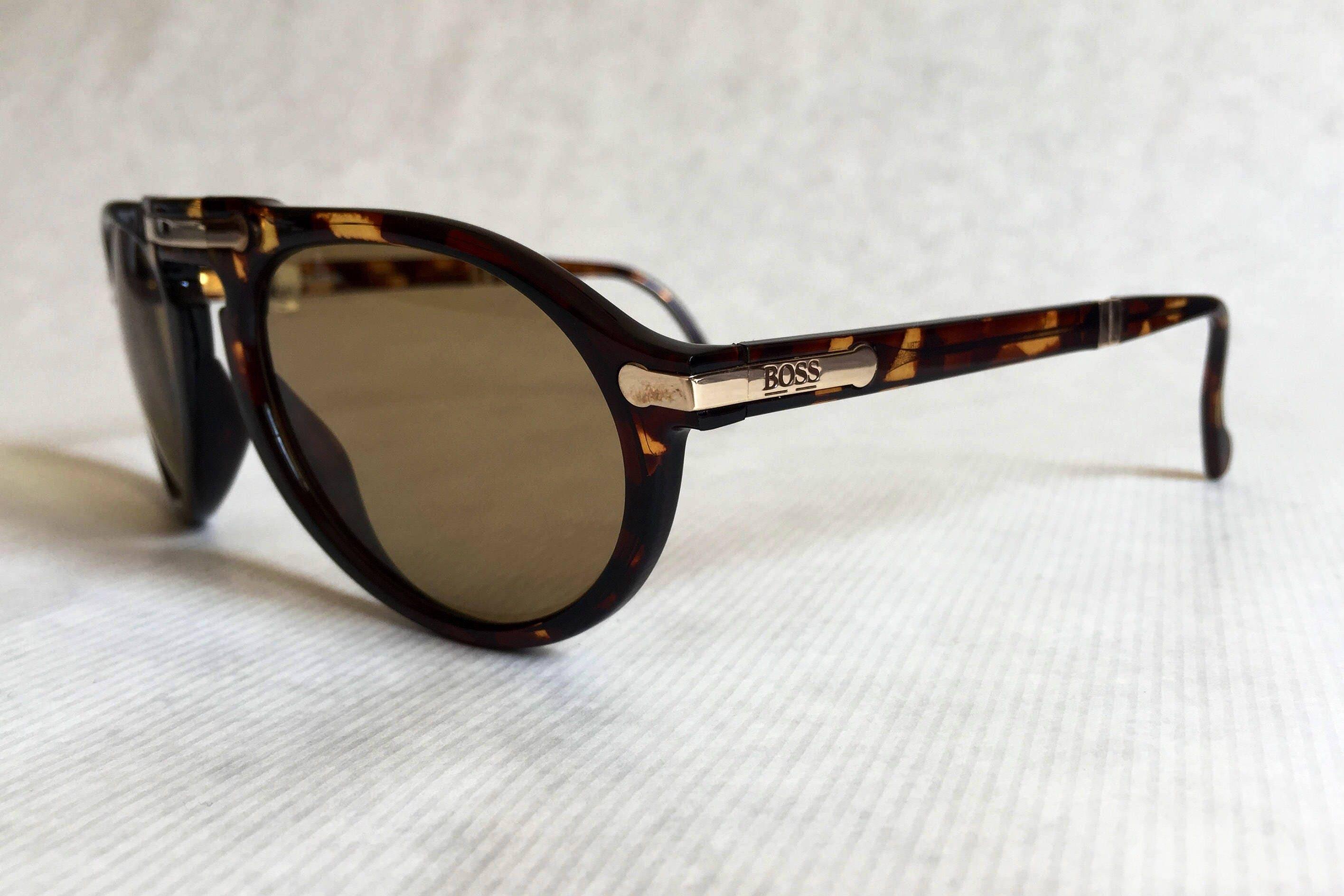 d74c6956b3a Hugo Boss by Carrera 5153 Folding Vintage Sunglasses - New Unworn Deadstock.  gallery photo gallery photo gallery photo gallery photo gallery photo