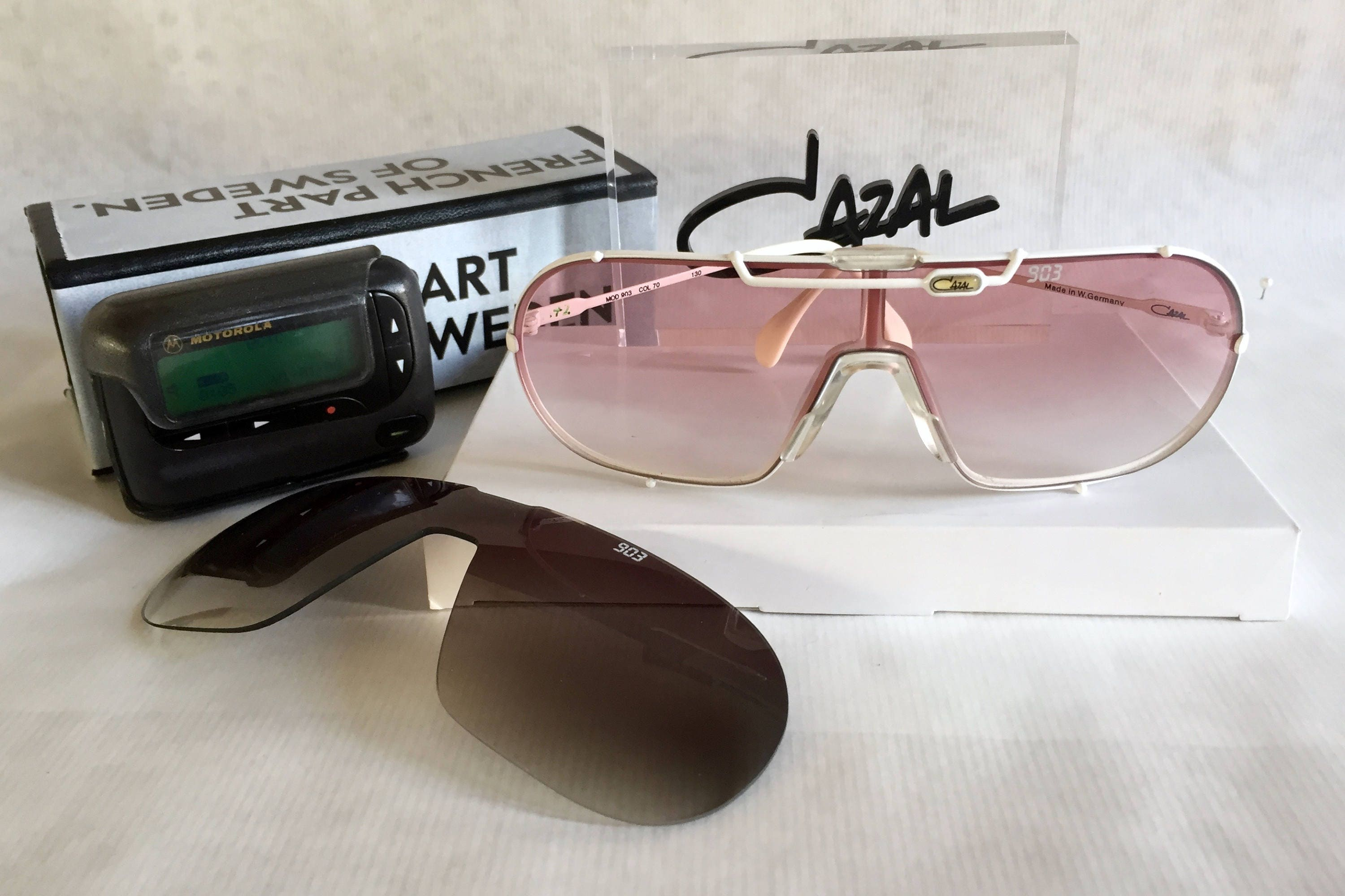 6677c3a19f5f Cazal 903 Col 70 Vintage Sunglasses New Old Stock including 2 ...