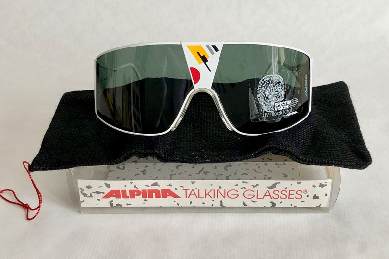 720a99d80e16 Alpina Talking Glasses Time Piece Vintage Sunglasses Full | Etsy