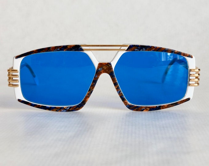 Reserved for Asim Chaudhry /// Cazal 325 Col 653 Vintage Sunglasses Made in West Germany New Old Stock